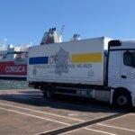 Traversée en poids-lourd pour la Corse par Déménagements Flippe