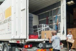 Caisse de déménagement en groupage ou caisse de déménagement international de Déménagements FLippe